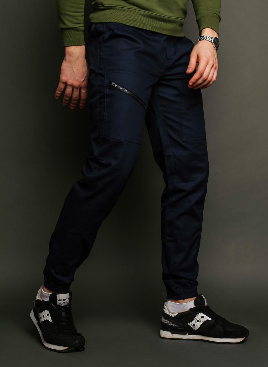 6d8153d59eb Мужские штаны карго Apache темно-синие ( внизу манжет на резинке) -  Интернет-