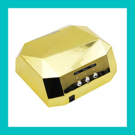 Гель-лампа Diamond 36 Вт (гибридная CCFL+LED)!Акция, фото 2