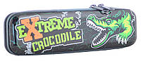 Пенал металлический  Extreme crocodile, 20.5*5.5*3