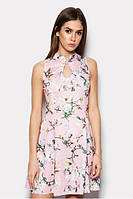 M (46) / Летнее платье с узором Issa, розовый