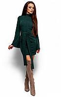 S-M, M-L / Облегающее ангоровое платье Dior, зеленый