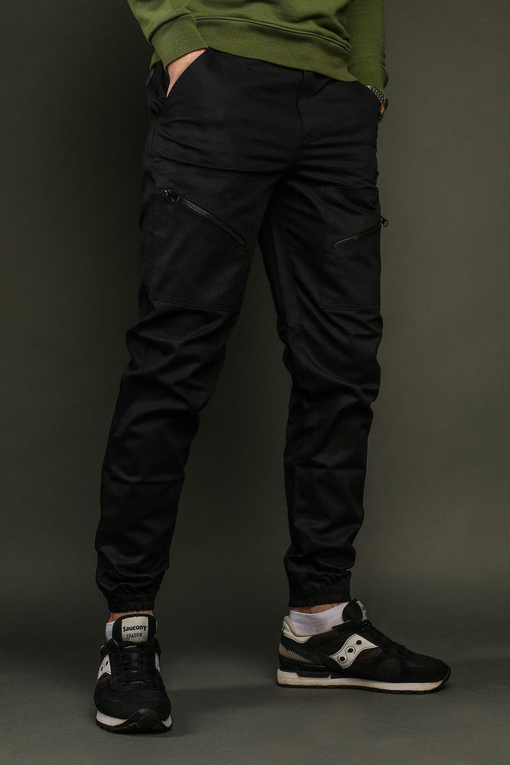 5f03ad20450 Купить Мужские черные штаны