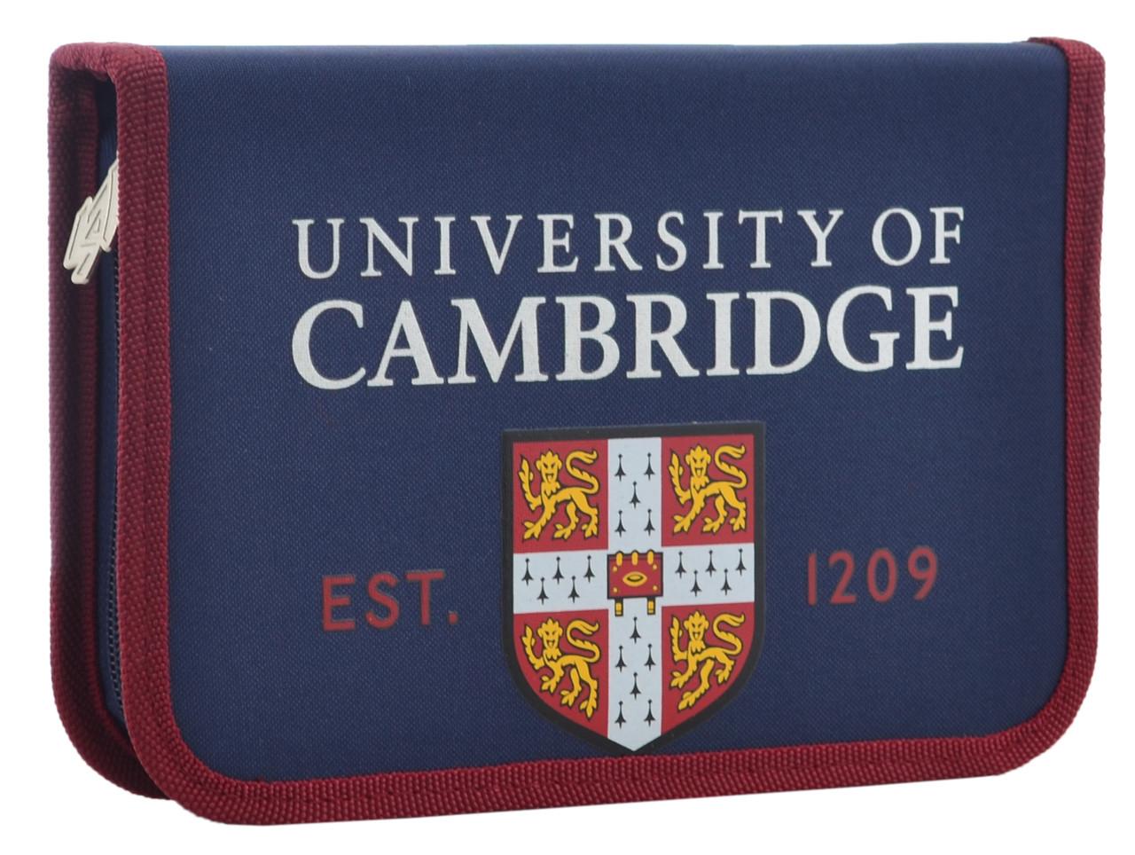 Пенал твердый одинарный с клапаном Cambridge, 20.5*14*3.5