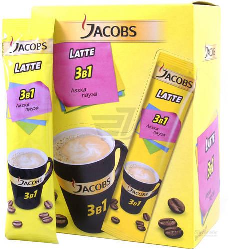 Jacobs Karamel Latte стики