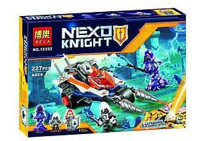 """Конструктор Bela 10592 Nexo Knight (аналог Lego 70348) """"Турнирная машина Ланса"""" 227 деталей"""