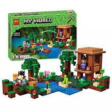 """Конструктор Minecraft Bela 10622 """"Хижина ведьмы"""" (аналог Lego Майнкрафт, Minecraft 21133), 508 деталей"""