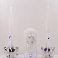 Свечи свадебные. Набор Сердце.
