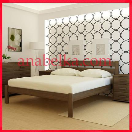 Кровать деревянная Франкфурт (Анабель) , фото 2