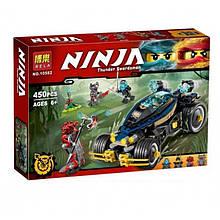 "Конструктор Bela Ninja 10582 (аналог Ninjago 70625 ""Самурай VXL"") 450 деталей"