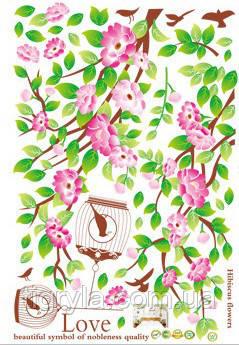 Интерьерная наклейка на стену Весна , фото 2