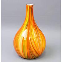 Ваза из цветного стекла 32 см