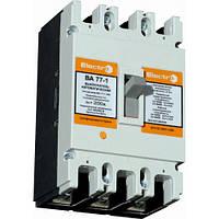 Автоматический выключатель ВА 77-1-250, 160A, 8-12In, 3P, Icu 25кА, 380В, Electro, фото 1