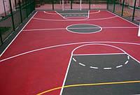 Бесшовные резиновые покрытия для спортивных площадок