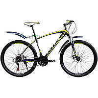 Горный велосипед Titan Porsche 27.5″ (Black/Green/Gray )