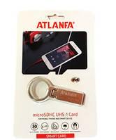 Флеш память USB Atlanfa AT-U2 4GB с кольцом Flash Drive