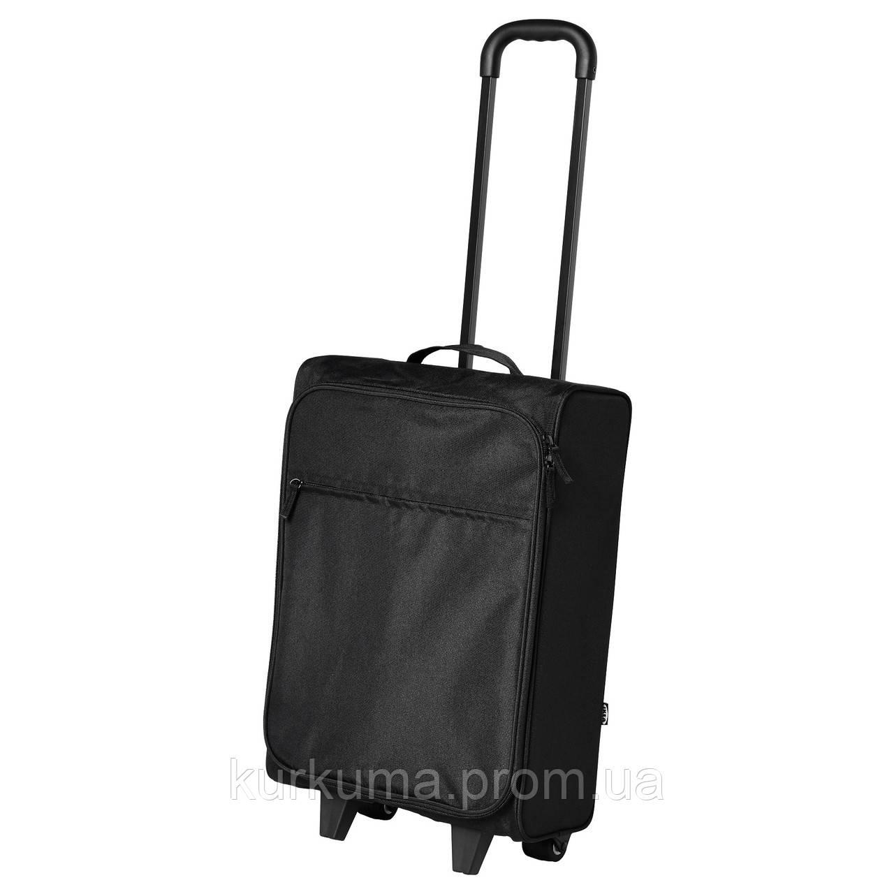 IKEA STARTTID Дорожная сумка на колесах  (403.675.01)