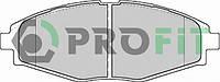 """Колодки тормозные передние 13"""" LANOS,Chery QQ Matiz (Profit 5000-1337)"""