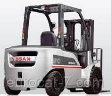 Запчасти на погрузчик Nissan DX15
