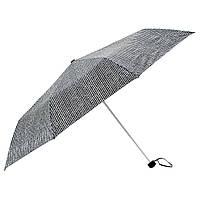 IKEA KNALLA Зонт, складной черный / белый (303.304.95)