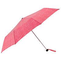 IKEA KNALLA Зонт, складной красный / белый  (903.304.97)