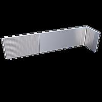 Алюминиевый фасадный кронштейн 210х50 мм