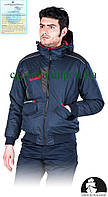 Куртка рабочая утепленная Польша (спецодежда зимняя с капюшоном) LH-DROSSEL