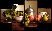 Модульная картина на кухню 122*74 см