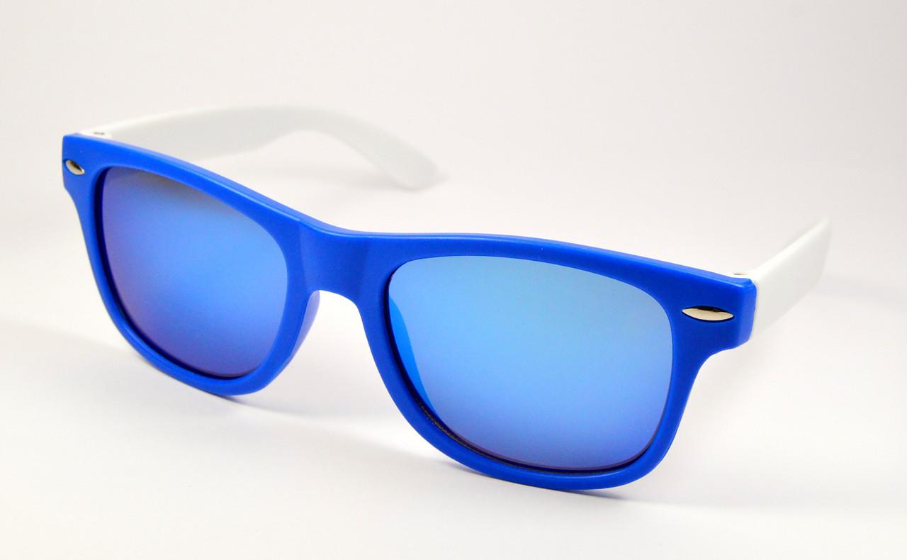 28127d86d1c1 Детские солнцезащитные очки Wayfarer (3015 син) - ОПТ Оптика. Очки оптом  Украина в