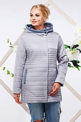 Весенняя куртка большого размера Розалия  Nui Very (Нью вери)