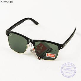 Сонцезахисні окуляри Ray-Ban Clubmaster зі скляною лінзою - JL1397