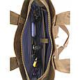 Кожаная мужская сумка Vatto, фото 7