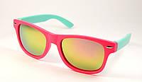 Детские солнцезащитные очки Wayfarer (3015 мал-гол)