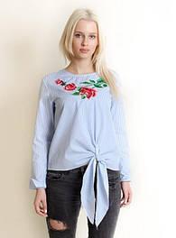 Блузы женские с вышивкой