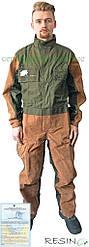 Комбинезон рабочий с кожаными вставками Resin RN-KT