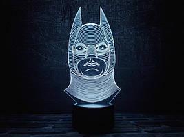 "3D Светильник ""Бэтмен 1"""