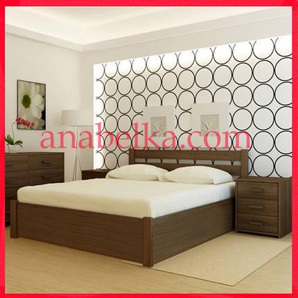 Кровать деревянная Франкфурт с подъёмным механизмом  (Анабель) , фото 2