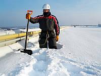Очистка крыш от снега, сосулек