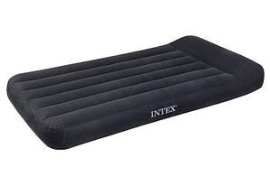 Матрас надувной Intex 66779 с подголовником и со встроенным насосом 220 V (191*99*23 см)