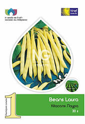 Семена фасоли Лаура 30 г, Империя семян