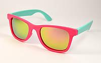 Детские солнцезащитные очки Wayfarer (3012 мал-гол)