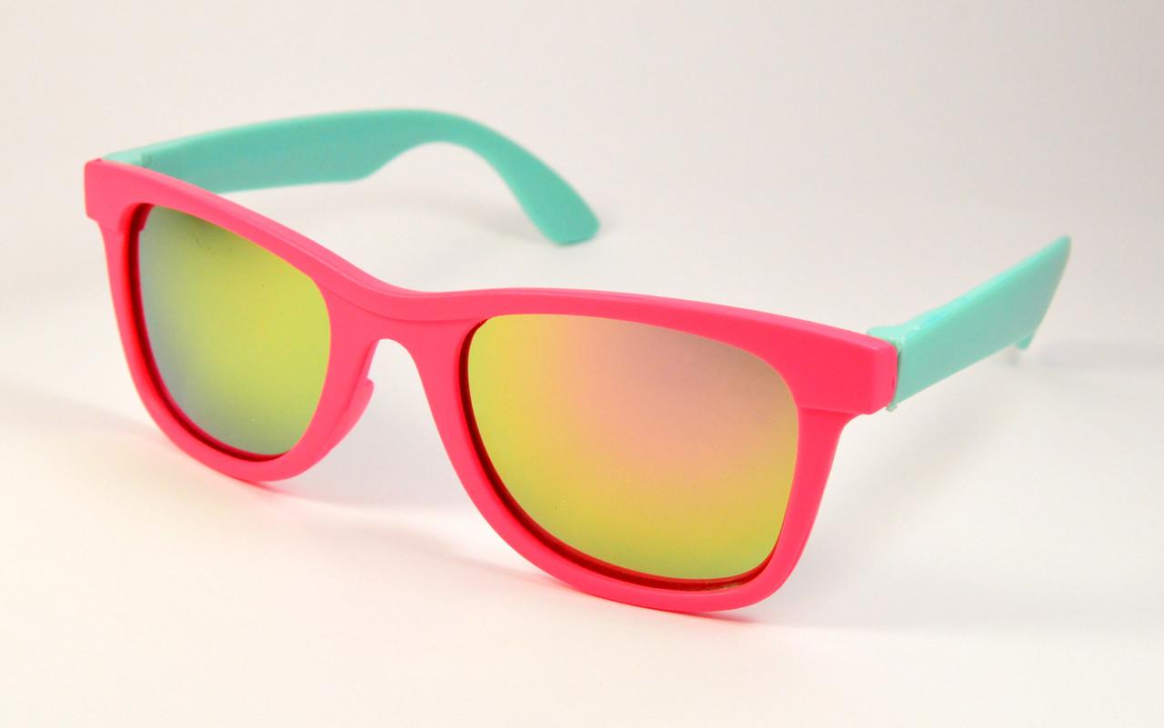 1ed727340a1d Детские солнцезащитные очки Wayfarer (3012 мал-гол) - ОПТ Оптика. Очки оптом