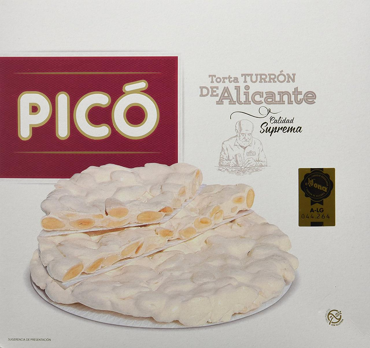 PICO Torta TURRON De Alicante