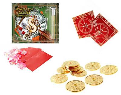 Конверти та Грошові фішки ( грошові конверти, килимки для грошей, етикетки, коти, грошове масло )