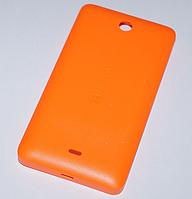 Задняя оранжевая крышка для Microsoft Lumia 430, фото 1