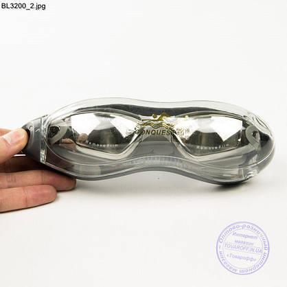 Качественные очки для плавания - Серые - BL3200, фото 3