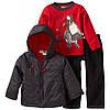 Куртка демисезонная, кофта, джинсы Набор Пингвин от Baby Togs, размер 2Т