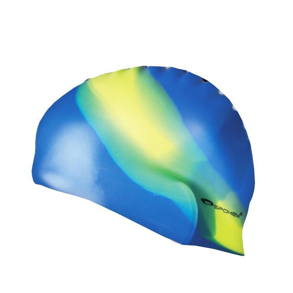 Шапочка для плавания Spokey Abstract (original) для бассейна, силикон