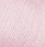 Нитки Alize Baby Wool 184 Порошок розовый
