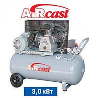 Поршневой компрессор  с ременной передачей AirCast Remeza 200.LB40 РМ-3127.02