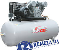 Воздушный профессиональный компрессор  AirCast  Remeza 500.LT100-11 пульт-1700
